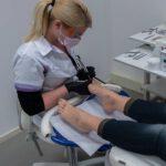Cosmetische voet verzorging
